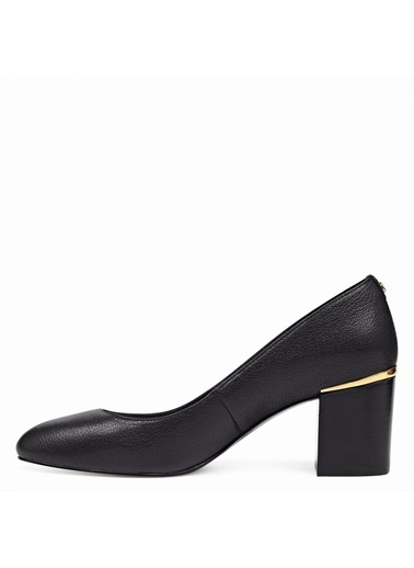 Deri Kalın Topuklu Ayakkabı-Nine West